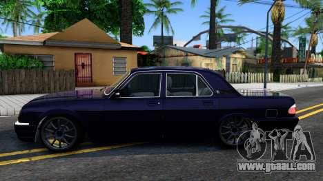 GAZ 31105 Volga for GTA San Andreas left view