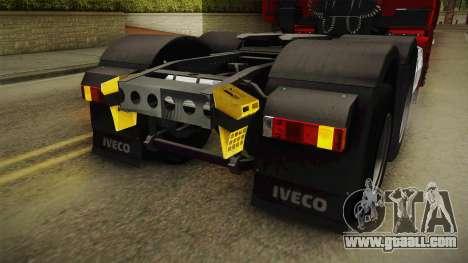 Iveco Stralis Hi-Way 560 E6 6x4 v3.1 for GTA San Andreas interior