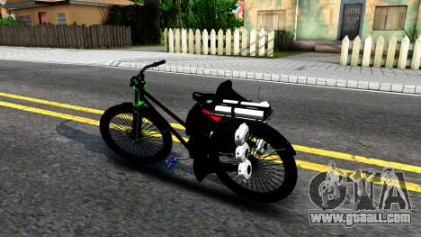 Bici for GTA San Andreas left view