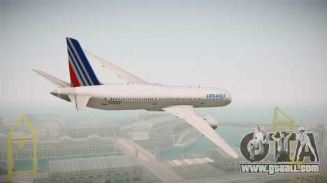 Boeing 787 Air France for GTA San Andreas right view