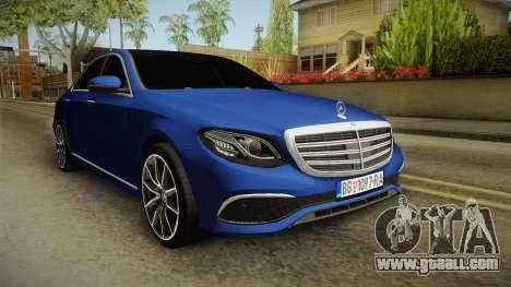 Mercedes-Benz E530 Serbian Mafia for GTA San Andreas right view