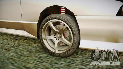 Elegy R32 for GTA San Andreas back view