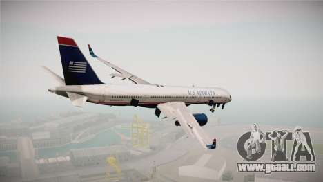 Boeing 757-200 US Airways for GTA San Andreas right view