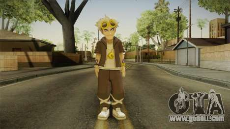 Pokémon Sun And Moon - Guzma for GTA San Andreas second screenshot