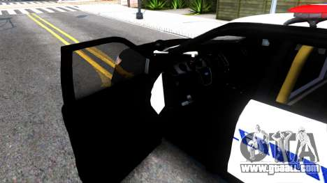 Ford Explorer Police for GTA San Andreas inner view