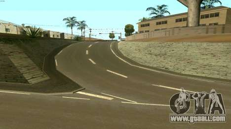 Russian roads for GTA San Andreas fifth screenshot