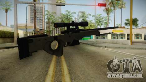 50 Cent: BTS - Bolt Action Sniper Rifle for GTA San Andreas second screenshot