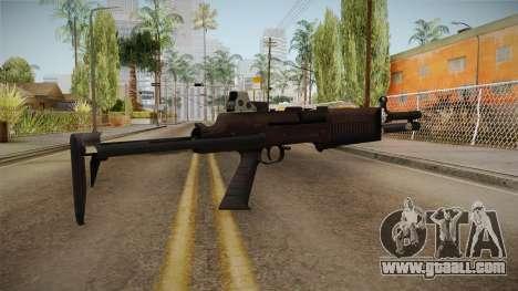 Battlefield 4 - QBS-09 for GTA San Andreas second screenshot