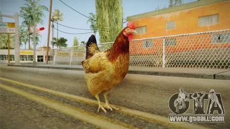 GTA 5 Chicken for GTA San Andreas forth screenshot
