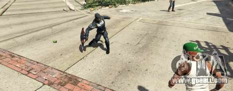 GTA 5 Captain America Shield Throwing Mod second screenshot