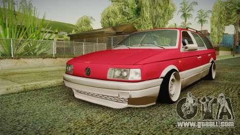 Volkswagen Passat B3 GT 2.0 for GTA San Andreas