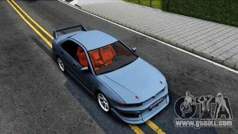 Mitsubishi Galant VR-4 for GTA San Andreas right view