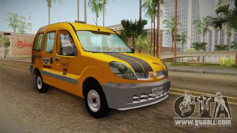 Renault Kangoo Taxi Colombiano for GTA San Andreas back left view
