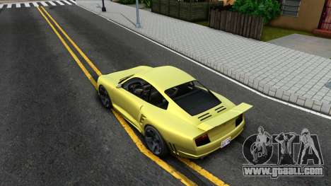 Pfister Comet From GTA 5 for GTA San Andreas back view