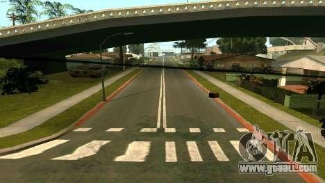 Russian roads for GTA San Andreas third screenshot