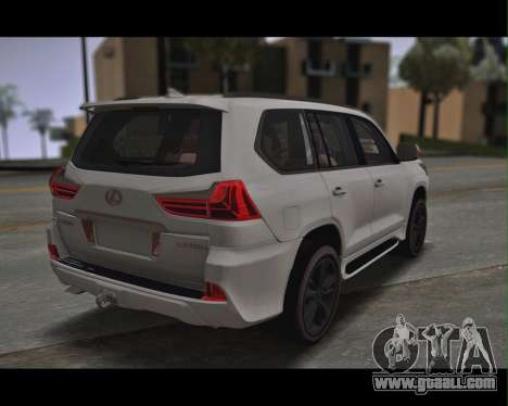 Lexus Lx350d for GTA San Andreas left view