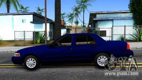 Ford Crown Victoria for GTA San Andreas left view