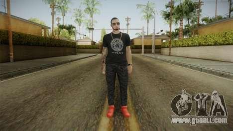 Anuel AA Camisa Versace for GTA San Andreas second screenshot