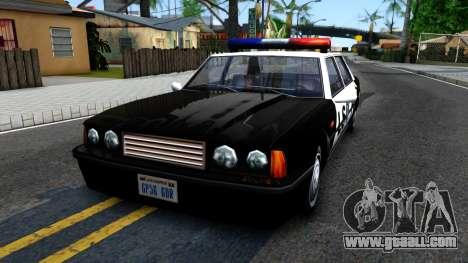 Vincent Cop for GTA San Andreas