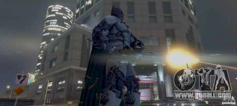 GTA 5 Batman XE Batsuit third screenshot