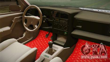 Volkswagen Passat B3 GT 2.0 for GTA San Andreas inner view