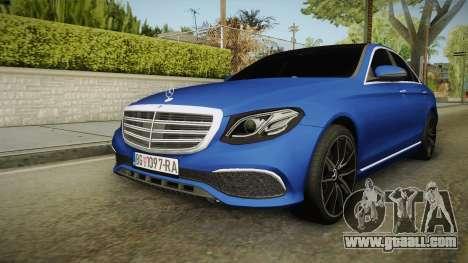 Mercedes-Benz E530 Serbian Mafia for GTA San Andreas