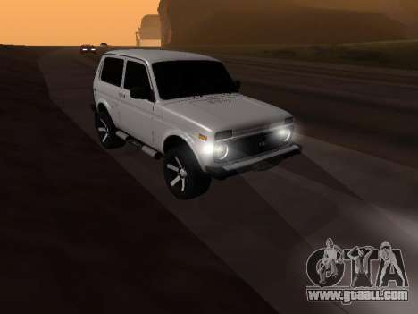 Vaz 2121 Niva Armenian for GTA San Andreas right view
