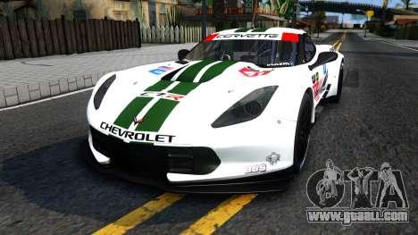 Chevrolet Corvette C7R GTE 2014 for GTA San Andreas
