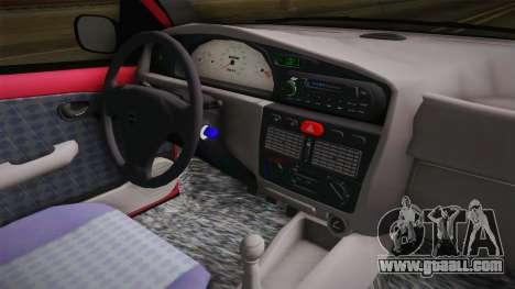 Volkswagen Golf G4 for GTA San Andreas inner view