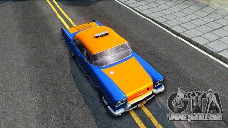 GTA V Declasse Cabbie for GTA San Andreas right view