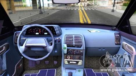 VAZ 21103 Suite for GTA San Andreas inner view
