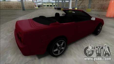 Nissan Skyline R32 Cabrio for GTA San Andreas left view