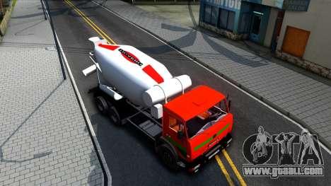 KAMAZ 65115 v2 for GTA San Andreas right view