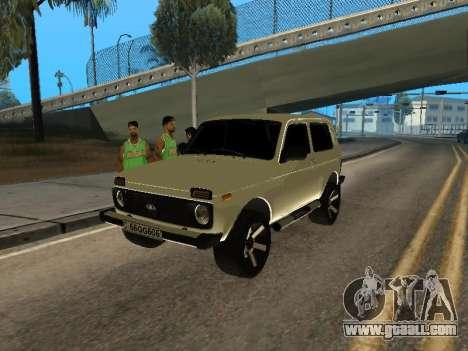 Vaz 2121 Niva Armenian for GTA San Andreas