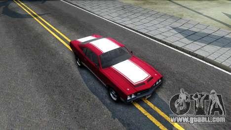Sabre Turbo GTA 5 for GTA San Andreas right view