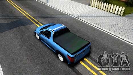 Peugeot Hoggar for GTA San Andreas back view