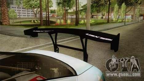 Nissan 380SX Bensopra LL Snow Halation Itasha for GTA San Andreas inner view