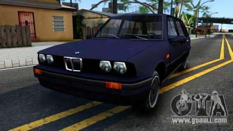 BMW 3-er E30 Touring SA Style for GTA San Andreas