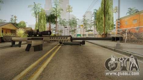 Battlefield 4 - M82A3 for GTA San Andreas