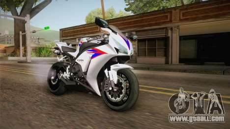 Honda CBR1000RR HRC 2012 for GTA San Andreas