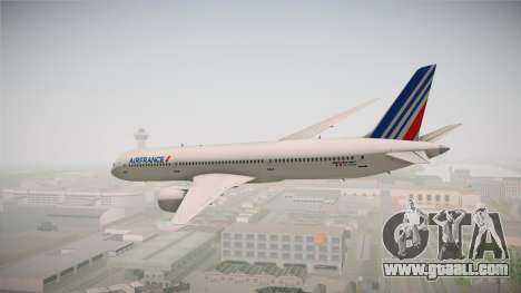 Boeing 787 Air France for GTA San Andreas left view