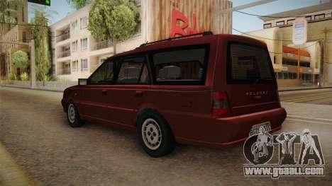 Daewoo-FSO Polonez Kombi Plus 1.6 GLi for GTA San Andreas back left view