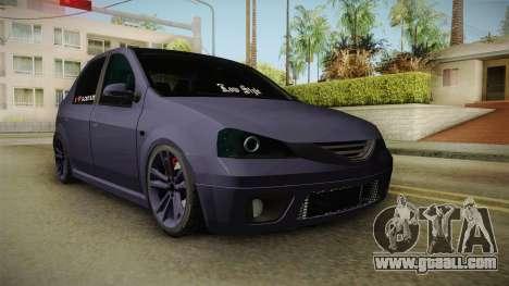 Dacia Logan Low Style for GTA San Andreas