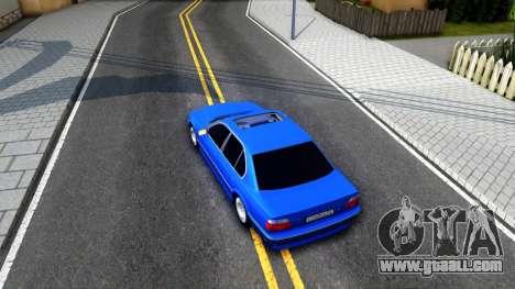 BMW 750iL E38 2001 for GTA San Andreas back view