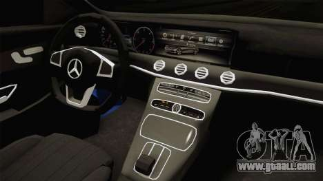 Mercedes-Benz E530 Serbian Mafia for GTA San Andreas inner view