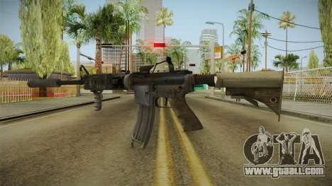 Battlefield 4 - M16A4 for GTA San Andreas second screenshot