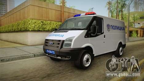 Ford Transit Police for GTA San Andreas right view