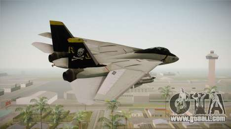 F-14A IRIS for GTA San Andreas right view