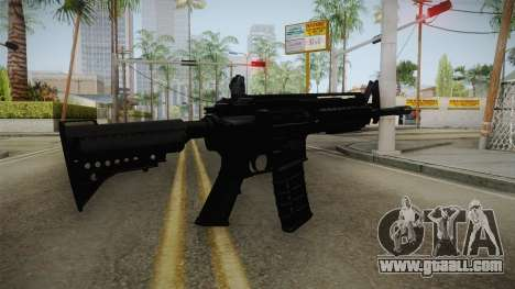 M4A1 S.I.R.S. for GTA San Andreas second screenshot