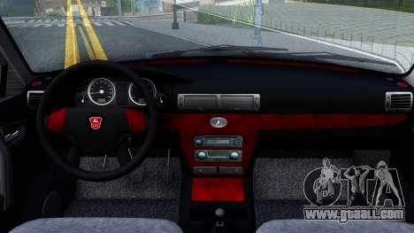 GAZ 31105 Volga for GTA San Andreas inner view